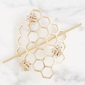 Modcloth Honey Hair Pin